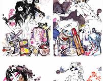 Oyster magazine layouts