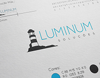 Identidade Visual Luminum Soluções