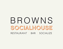 Browns Social House Menu