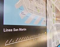 Trenes Argentinos - Sistema de Infoviales