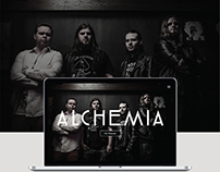Alchemia - Web design
