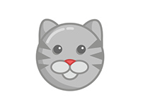 Emojis Of A Stray Cat