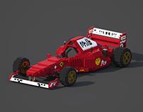 Ferrari 310B Voxel