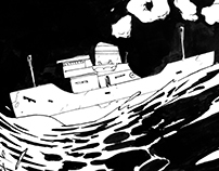 Animation study 'The Ocean'
