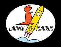 Launch-o-saurus Logo