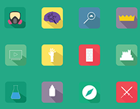 Tv Series Motion Graphics + Free Icons