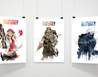 vector illustrations for the Last Stand: Dead Zone game