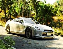 Nissan GT-R - Automotive Visualization