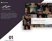 Yoga Alchemy- Website Design