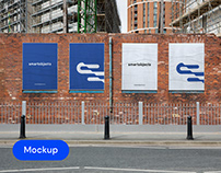 City Posters 01 | Signage Mockup Template