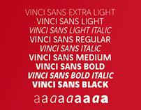 Vinci Sans & Vinci Serif