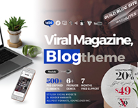Jasmin - Viral Blog & Magazine Theme - Only $49