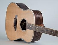 Custom Dreadnought Acoustic Guitar