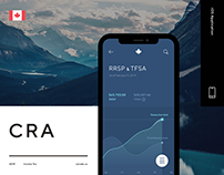 Canada Revenue Agency (CRA) - UX/UI Design