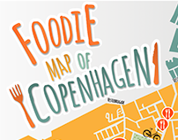 Foodie Map of Copenhagen