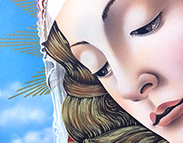 Reproducción de Obra de Botticelli