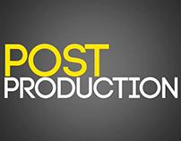 Showreel 2016 - Post Production