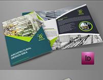 Architectural Design Bi-Fold Brochure Template