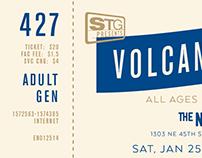Volcano Choir Ticket