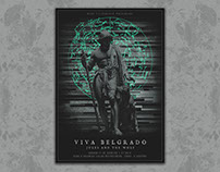 Viva Belgrado + Jules & The Wolf Poster