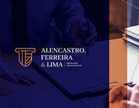 Alencastro, Ferreira & Lima - Brand Identity
