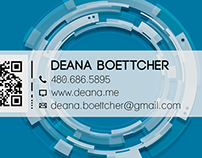 deana.me business card