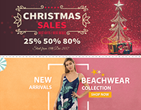 Website Fashion Banners