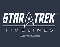 Star Trek Timelines Marketing Style Guide