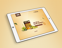Landing Page for AVA Healthcare  Product Marketing