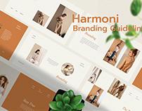 Harmoni - Branding Guidelines Presentation Template