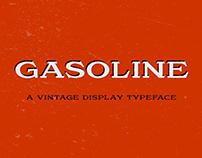 Gasoline - Vintage Display Typeface