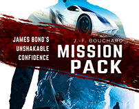 Mission Pack - book cover design