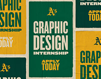APPLY TODAY // GRAPHIC DESIGN INTERN