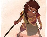 The Badass Indian Girl