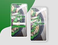 Calorie Counter Mobile App - Onboarding