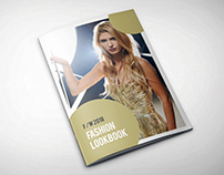 Fashion Lookbook Design Template