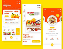 Dynamic design of Fast food order
