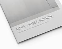Portrait Brochure • Alpha Series