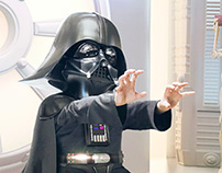 "Kid vadar ""Star Wars Tribute"""