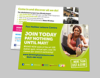 Fox Hollies Leisure Centre - Join Today Leaflet