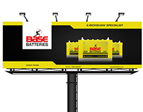 Base E-Rickshaw Billboards