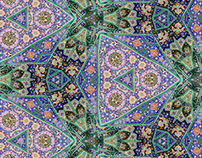 Patterns of Life: Greens, Purples, and Blues