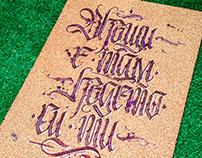 Calligraphy & Calligraffiti mix collection 7