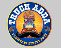 Truck Adda logo & Branding