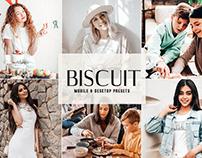 Free Biscuit Mobile & Desktop Lightroom Presets