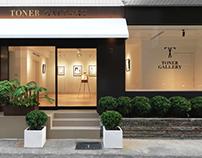 Toner Gallery-LOGO & 店招