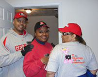 Habitat for Humanity and Owens Corning Team