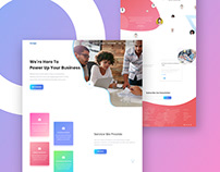 Seo & Marketing Landing Page