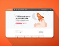Moonshot E-Learning Website
