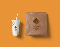 Belgian Waffles Branding